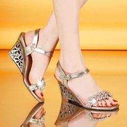 giày sandal nữ đế xuồng cao cấp