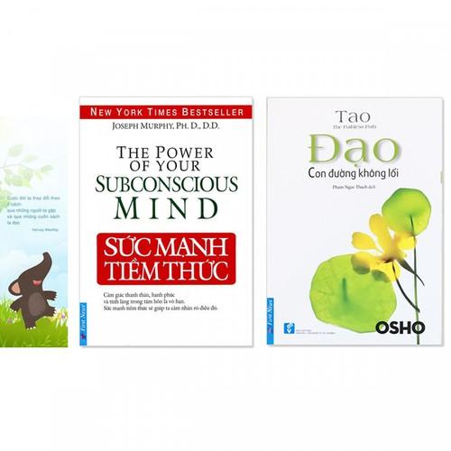 Combo 2 quyển: Sức Mạnh Tiềm Thức + Đạo - Con Đường Không Lối - Tặng kèm bookmark danh ngôn hình voi