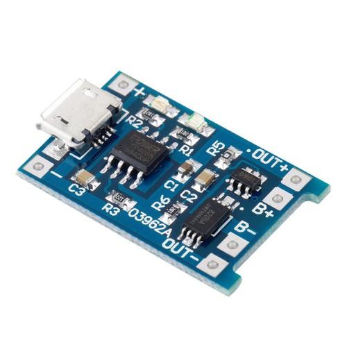 Mạch sạc pin lithium micro usb TP4056 1A - 7556577 , 16165806 , 15_16165806 , 15000 , Mach-sac-pin-lithium-micro-usb-TP4056-1A-15_16165806 , sendo.vn , Mạch sạc pin lithium micro usb TP4056 1A