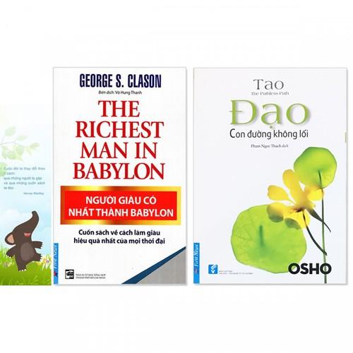 Combo 2 quyển: Người Giàu Có Nhất Thành Babylon + Đạo - Con Đường Không Lối - Tặng kèm bookmark danh ngôn hình voi - 7554496 , 16154998 , 15_16154998 , 146000 , Combo-2-quyen-Nguoi-Giau-Co-Nhat-Thanh-Babylon-Dao-Con-Duong-Khong-Loi-Tang-kem-bookmark-danh-ngon-hinh-voi-15_16154998 , sendo.vn , Combo 2 quyển: Người Giàu Có Nhất Thành Babylon + Đạo - Con Đường Không L