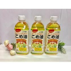 Dầu gạo cao cấp Tsuno 500gr Xuất xứ Nhật Bản