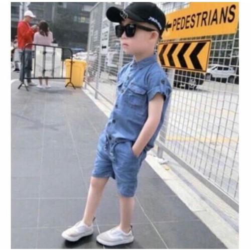 Bộ jean cho bé trai và gái