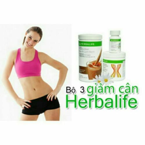 herbalife - BỘ 3 GIẢM CÂN herbalife!