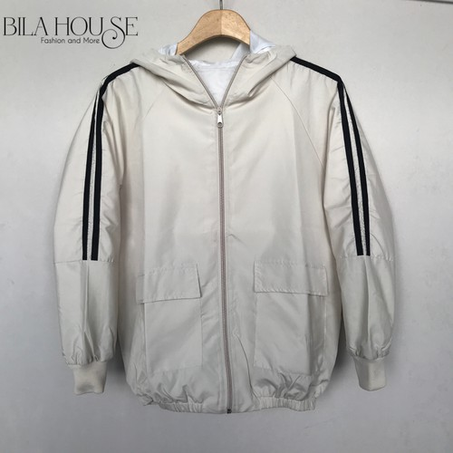 Áo khoác chống nắng nữ form rộng thời trang - hình chụp thật - Xưởng áo khoác Bila