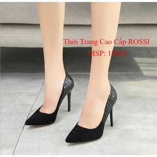 Giày cao gót big size gót nhọn 7cm size 40 đến 43 - 19015 NRossi thumbnail
