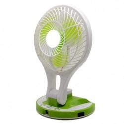 Quạt Tích Điện Kiêm Đèn Pin Mini Fan - Quạt Tích Điện Mini Fan