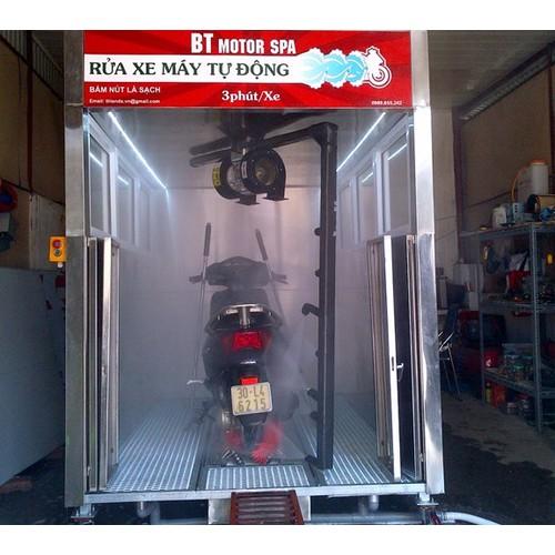 Dịch vụ rửa xe máy tự động