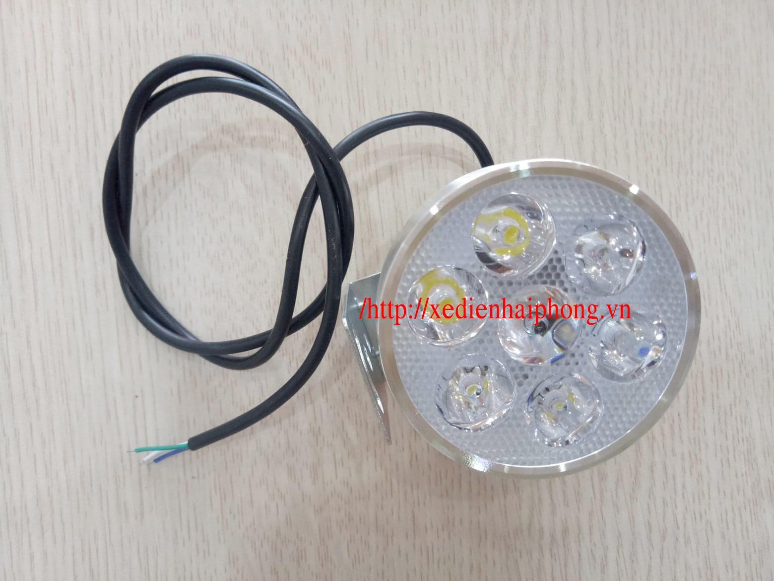 Đèn 7 bóng siêu sáng xe điện