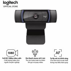 Webcam Logitech C920 Pro HD 1080p