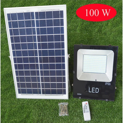 Đèn Led sân vườn năng lượng mặt trời cảm biến ánh sáng VITI SMART 100W