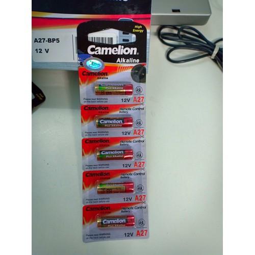 Pin Camelion Plus Alkaline - 12v 27A- Vỉ 5 viên