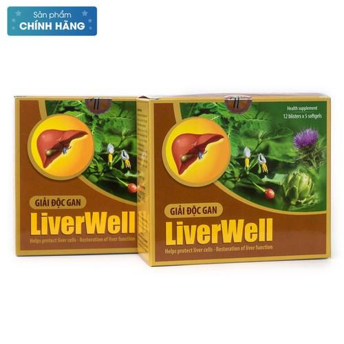 Viên Uống Giải Độc Gan Liverwell - 4685443 , 16173896 , 15_16173896 , 126000 , Vien-Uong-Giai-Doc-Gan-Liverwell-15_16173896 , sendo.vn , Viên Uống Giải Độc Gan Liverwell