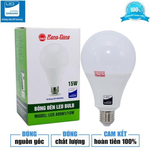 Bóng đèn LED bulb 15W Rạng Đông SAMSUNG. ChipLED - 4527086 , 16182162 , 15_16182162 , 55000 , Bong-den-LED-bulb-15W-Rang-Dong-SAMSUNG.-ChipLED-15_16182162 , sendo.vn , Bóng đèn LED bulb 15W Rạng Đông SAMSUNG. ChipLED