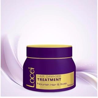 Hấp dầu Lacei Hair Damaged Treatment 500ml - v45 thumbnail