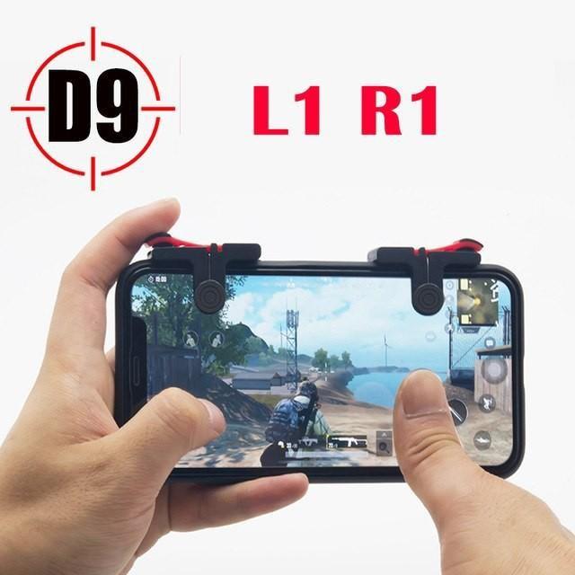 Bộ 2 Nút Bấm Chơi Game Mobile PUBG, ROS Dòng D9 Trên Điện Thoại 2