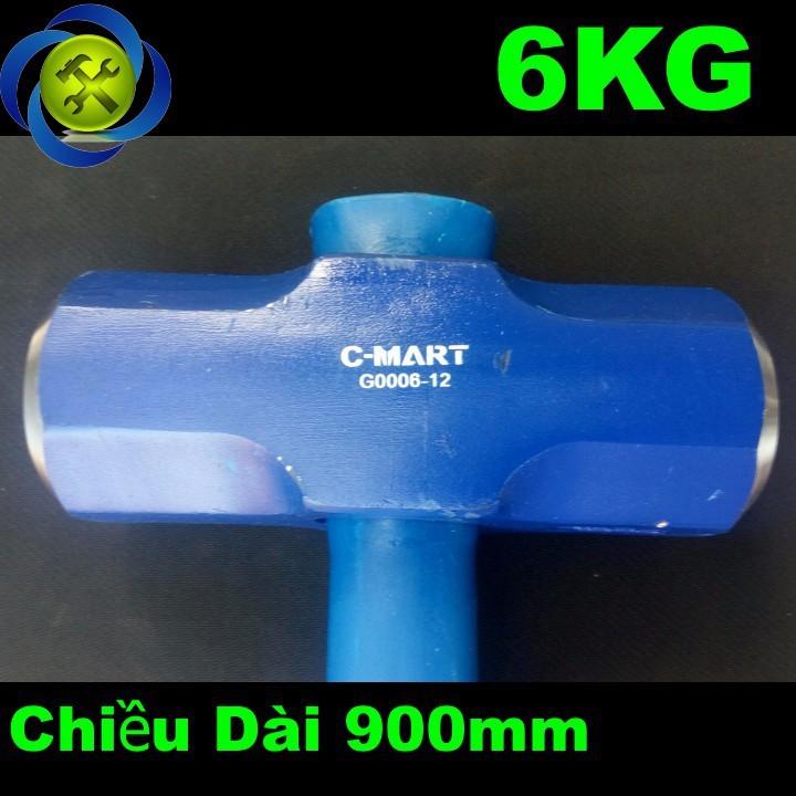 Búa tạ 6kG C-Mart G0006-12  1