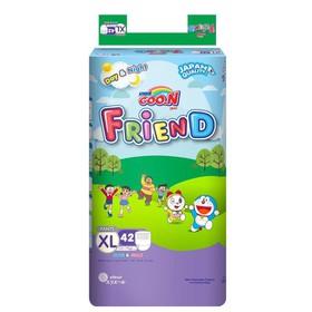 Tã quần Goon Friend S62,M58,L48,XL42,XXL34 miếng mới - Bỉm quần Goon - QGXL42