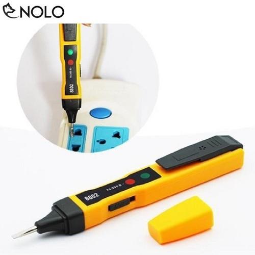 Bút Thử Điện Âm Tường AC Và DC Với Chip Cảm Biến Cực Nhạy