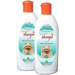sữa tắm chó mèo- Sữa tắm cho chó mèo diệt ve, rận, bọ chét Vime Shampo 300ml