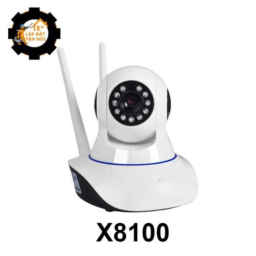 [LẮP ĐẶT TẬN NƠI HCM] Camera IP YOOSEE không dây x8100 xoay 360 độ bản mới lưu 4 vị trí