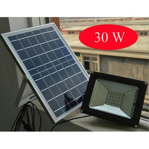 Đèn Led sân vườn năng lượng mặt trời cảm biến ánh sáng VITI SMART 30W