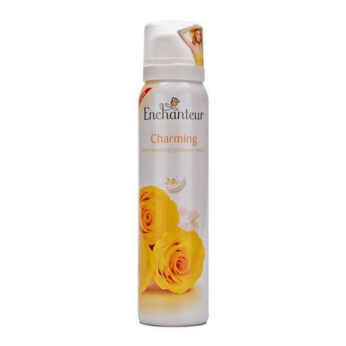 Xịt khử mùi hương nước hoa Enchanteur Charming 75ml