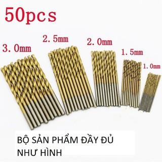 Bộ mũi khoan mini 1-3mm - m59 thumbnail