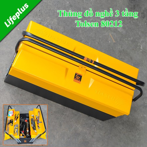 Thùng đồ nghề Tolsen80212