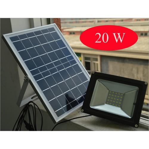 Đèn Led sân vườn năng lượng mặt trời cảm biến ánh sáng VITI SMART 20W