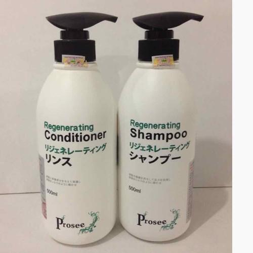 Dầu gội xả Prosee As10 Ac10 Đặc trị cho tóc sau hóa chất uốn nhuộm