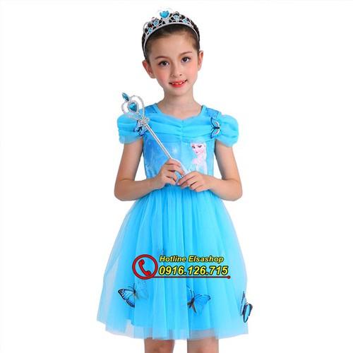 Váy Elsa Cho Bé