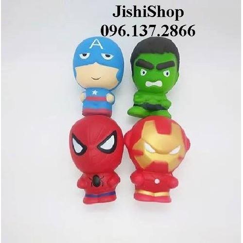 đồ chơi bóp mềm squishy dễ thương - siêu anh hùng