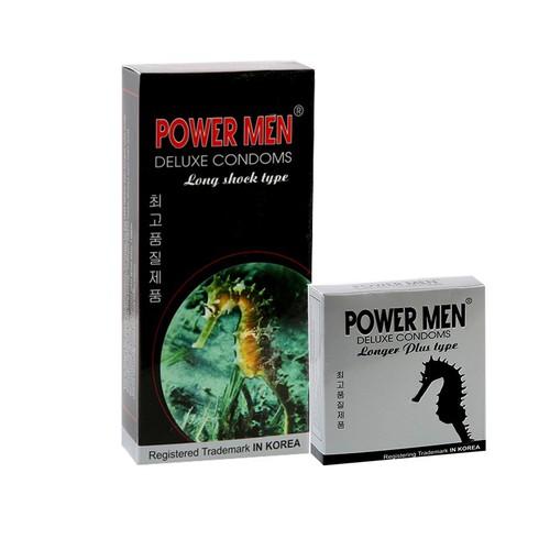bao cao su Powermen Cá Ngựa - Bộ 15 BCS