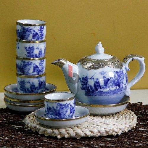 HỢP MỌI BỘ SALON bộ tách trà gốm sứ men lam bọc đồng vẽ trúc lâm thất Hiền, bộ chén trà, ấm chén bát tràng, bộ tách uống trà, bộ bình uống trà, Bộ bình trà, - 10505427 , 16190537 , 15_16190537 , 600000 , HOP-MOI-BO-SALON-bo-tach-tra-gom-su-men-lam-boc-dong-ve-truc-lam-that-Hien-bo-chen-tra-am-chen-bat-trang-bo-tach-uong-tra-bo-binh-uong-tra-Bo-binh-tra-15_16190537 , sendo.vn , HỢP MỌI BỘ SALON bộ tách trà