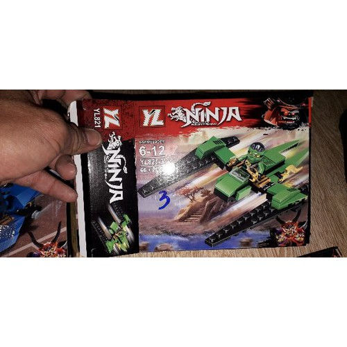Lắp ráp NLego Ninja Siêu xe YL 821 mẫu 3