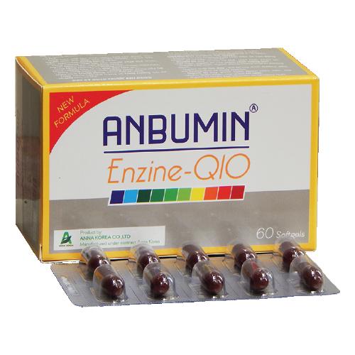 Anbumin Enzine Q10 hộp 60 viên - 10581734 , 16193689 , 15_16193689 , 150000 , Anbumin-Enzine-Q10-hop-60-vien-15_16193689 , sendo.vn , Anbumin Enzine Q10 hộp 60 viên