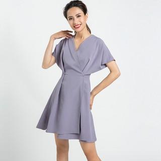 Đầm Đẹp Đầm Dạo Phố Trẻ Trung Đầm Không Tuổi Hity DRE076 Tím Violet - DRE076-TÍM VIOLET thumbnail
