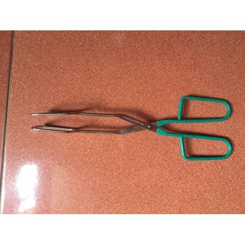 Kẹp gắp đồ nướng bằng inox dài 28cm