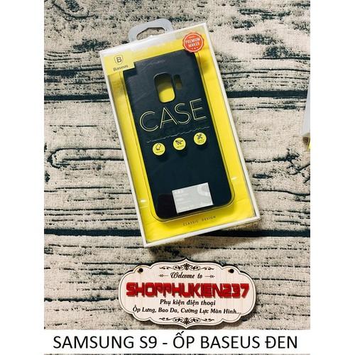 ỐP LƯNG BASEUS ĐEN SAMSUNG S9 ỐP ĐẸP CHÍNH HÃNG