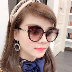 Mắt kính nữ oval mẫu mới L10