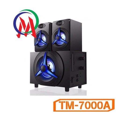 Loa Kisonli Bluetooth 2.1 TM-7000A-Led RGB-Điện AC 220v