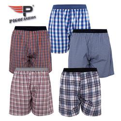 Combo 5 quần đùi boxer nam thể thao cao cấp PIGOFASHION QDN02 - 2 - giao màu ngẫu nhiên