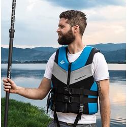 Áo phao bơi, chơi ván Sup, đi thuyền bơm hơi NatureHike NH18F001-Y