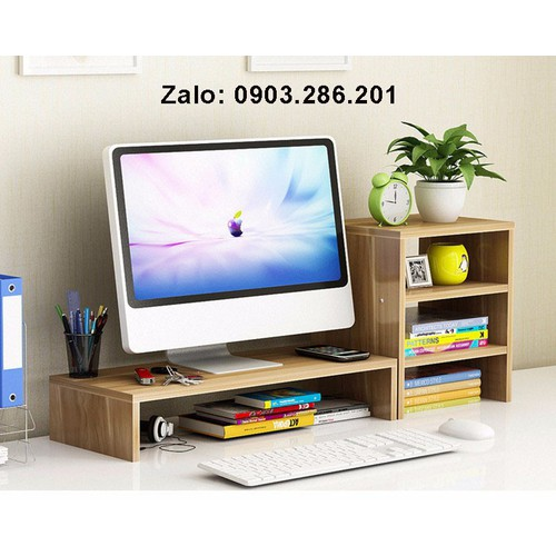Kệ gỗ để màn hình máy tính 2 tầng, có ngăn tủ phụ bên cạnh - 7560293 , 16191226 , 15_16191226 , 680000 , Ke-go-de-man-hinh-may-tinh-2-tang-co-ngan-tu-phu-ben-canh-15_16191226 , sendo.vn , Kệ gỗ để màn hình máy tính 2 tầng, có ngăn tủ phụ bên cạnh