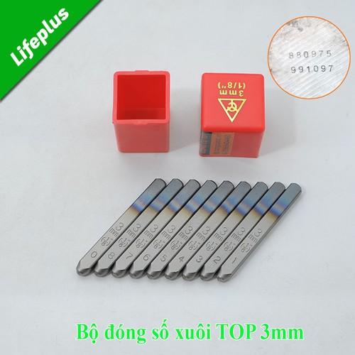 Dụng cụ đóng số 3mm-XUÔI