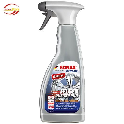 Dung dịch tẩy rửa vệ sinh vành mâm Sonax Xtreme Wheel Cleaner PLUS 500ml - 11137458 , 16194347 , 15_16194347 , 260000 , Dung-dich-tay-rua-ve-sinh-vanh-mam-Sonax-Xtreme-Wheel-Cleaner-PLUS-500ml-15_16194347 , sendo.vn , Dung dịch tẩy rửa vệ sinh vành mâm Sonax Xtreme Wheel Cleaner PLUS 500ml