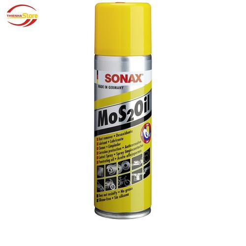 Dầu bảo quản bôi trơn chống gỉ và ăn mòn Sonax Mos2Oil 300ml - 7907432 , 16202949 , 15_16202949 , 130000 , Dau-bao-quan-boi-tron-chong-gi-va-an-mon-Sonax-Mos2Oil-300ml-15_16202949 , sendo.vn , Dầu bảo quản bôi trơn chống gỉ và ăn mòn Sonax Mos2Oil 300ml