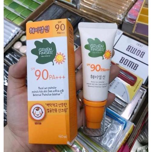 Kem chống nắng Green Finger 90spf Hàn Quốc 40ml