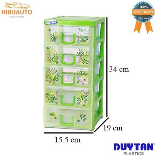 Tủ nhựa Duy Tân Tomi-S 5 ngăn – Đủ màu 15.5 x 19 x 34 cm No.1136-5