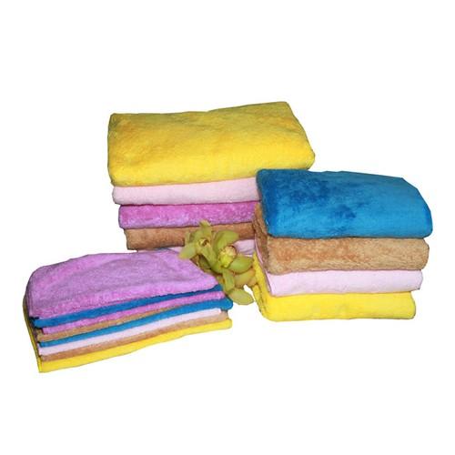 Bộ 5 khăn siêu mềm lông cừu cho bé tắm rửa KT 30x50cm